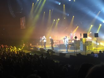 Midnight Oil - Christchurch (NZ), Horncastle Arena, 11th September 2017