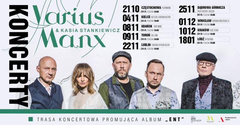 Varius Manx I Kasia Stankiewicz Ruszają W Polskę Mlwzpl