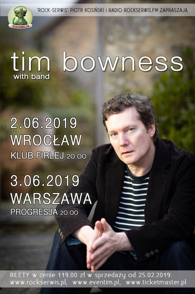 Tim Bowness plakat 830
